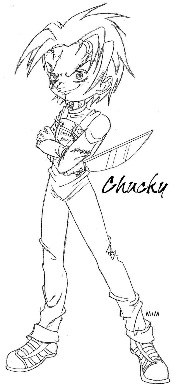 Chucky Sketch By ChuckysBride13 On DeviantArt