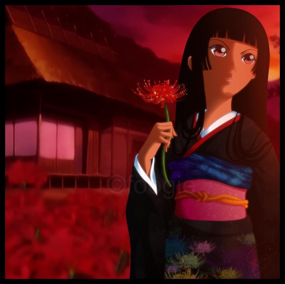 Enma Ai - Jigoku Shoujo by foogie