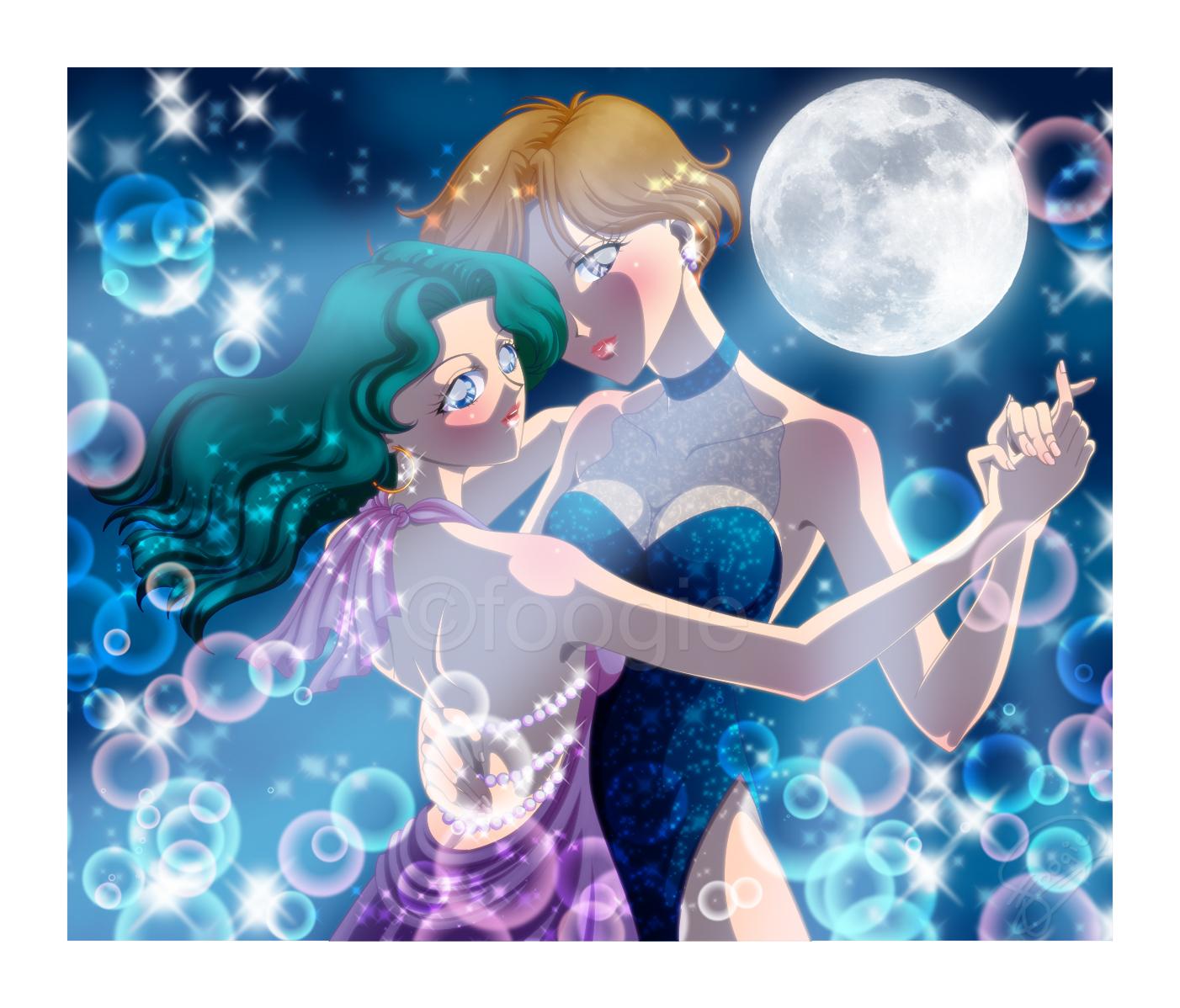 Haruka And Michiru By Foogie On DeviantArt