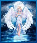Commission: Moonlight Angel