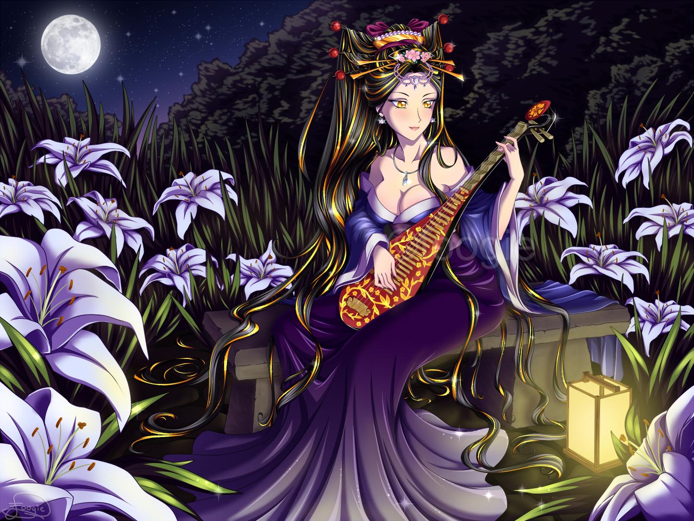 Commission - Esmeralda by foogie