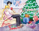 Usagi, Mamoru and Chibiusa - Merry Christmas!