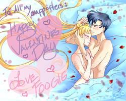 Happy (Belated) Valentines Day!  Usa + Mamo 2016 by foogie