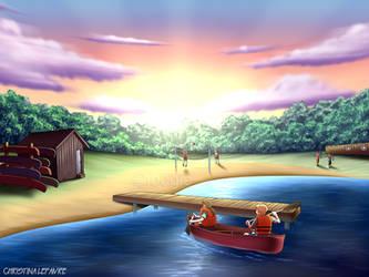 Landscape Renderings - Summer Camp Beach by foogie