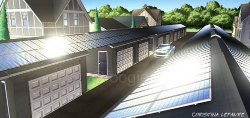 Landscape Renderings - Solar Community by foogie