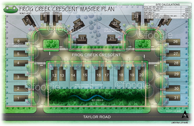 Landscape Renderings - Subdivision Master Plan by foogie