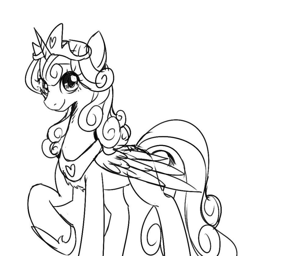 My Little Pony Flurry Heart Ausmalbilder : Little Heart Coloring Pages Best Ideas For Printable And Coloring