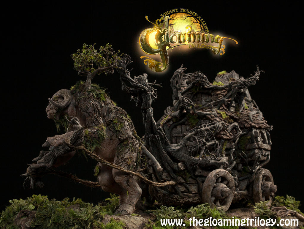 Troll Wagon sculpture by Johnny-Fraser-Allen