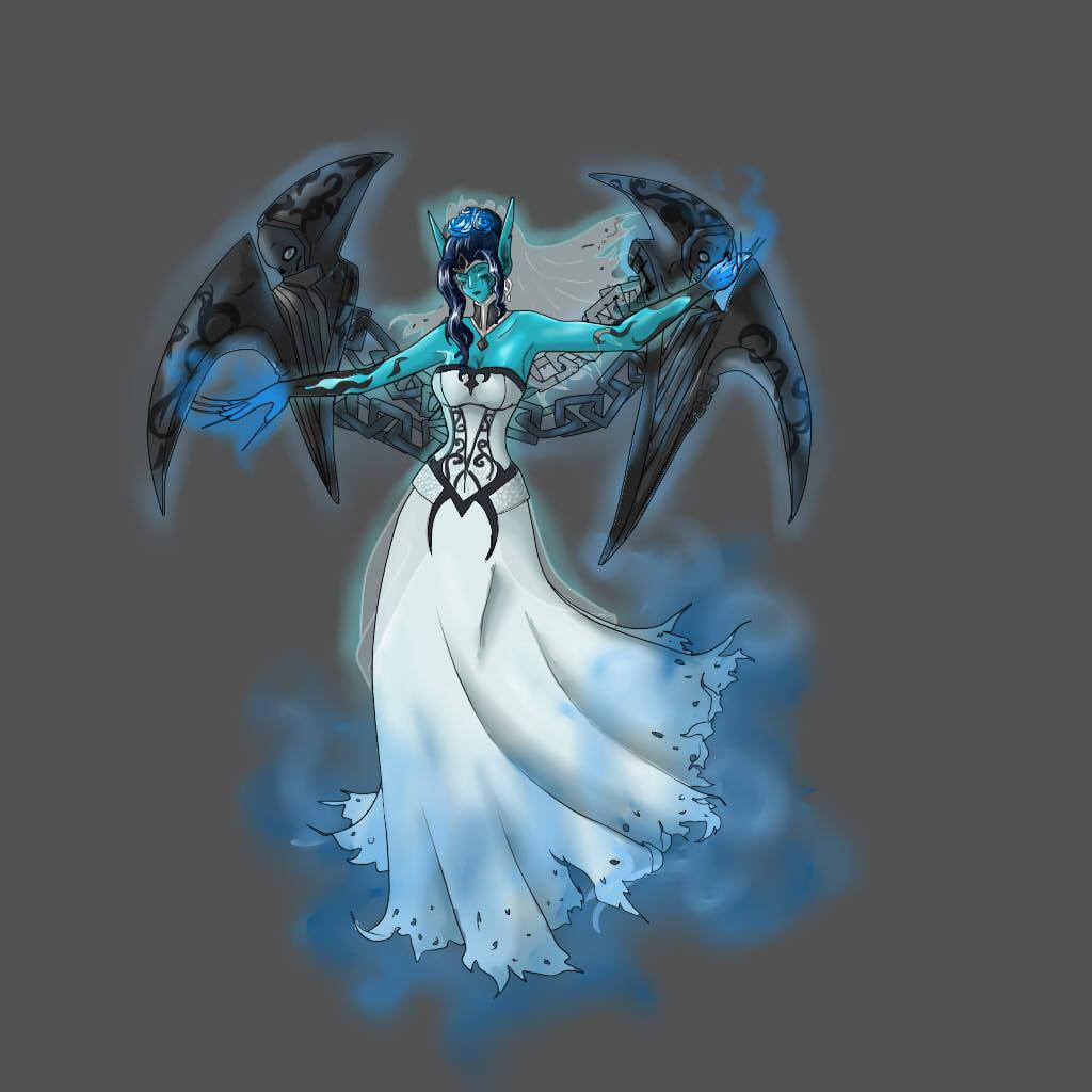 Morgana Ghost Bride by leourso on deviantART