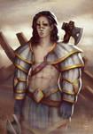 Aydin - Valiant Warrior (final artwork)
