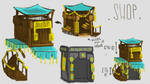 In-Game Shop - ConceptArt by Maka