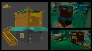 3D model ingame - New shop by Marshal by PhaethonGames