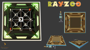 Rayzoo - 3D Game concept art by PhaethonGames
