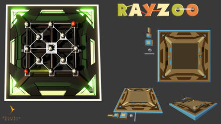 Rayzoo - 3D Game concept art
