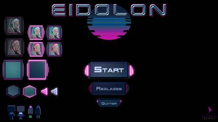 [Game Prototype] Game UI for Eidolon