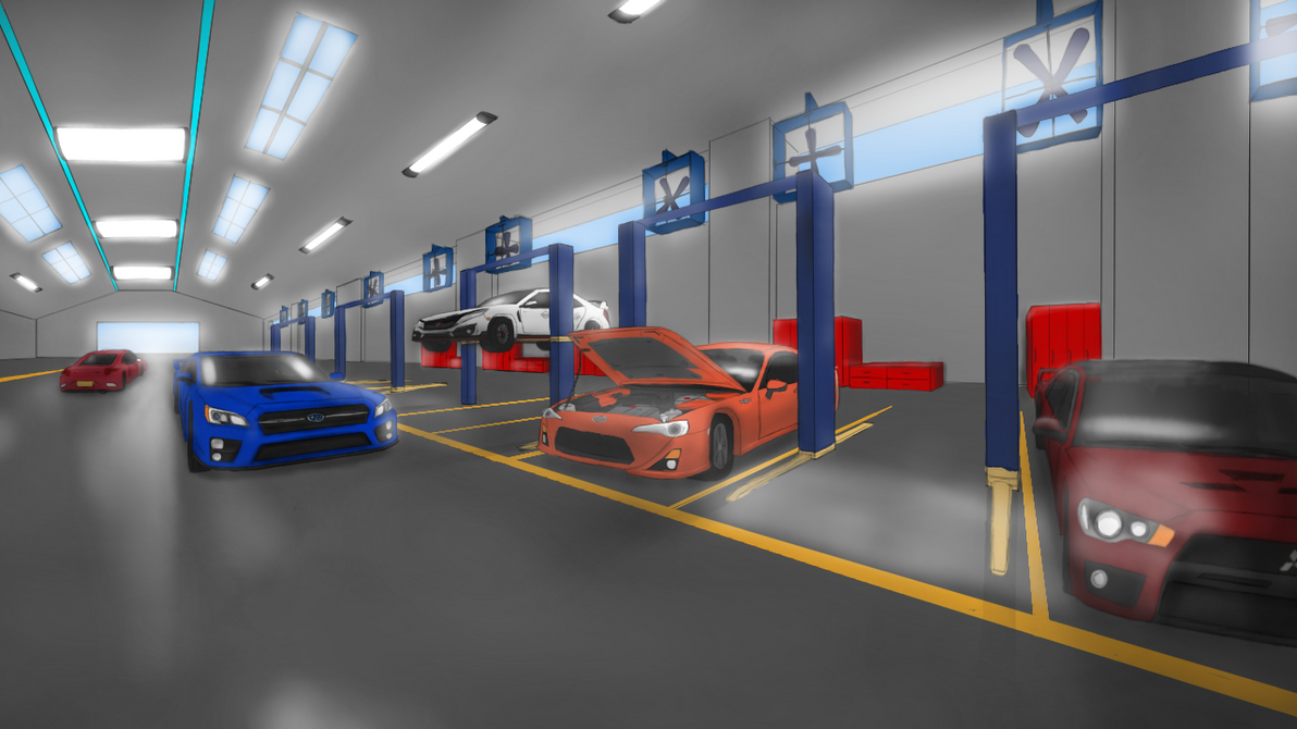 Auto Service Center by LesterJam