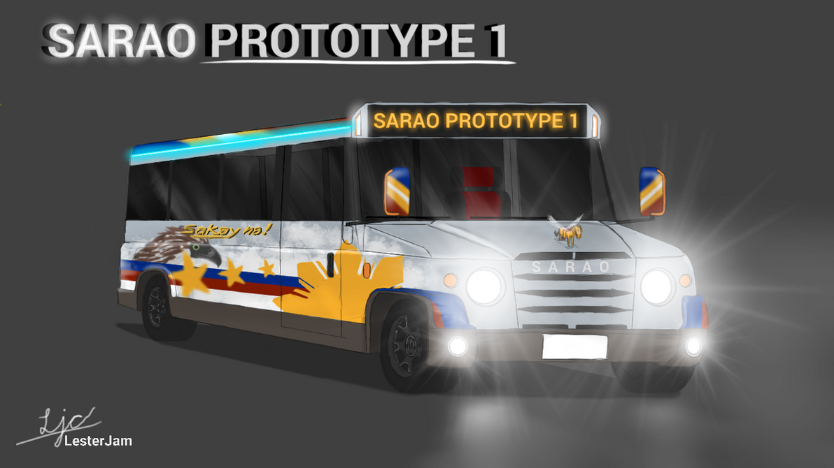 Sarao Prototype-1 (Prototype Jeepney) 2018 by LesterJam