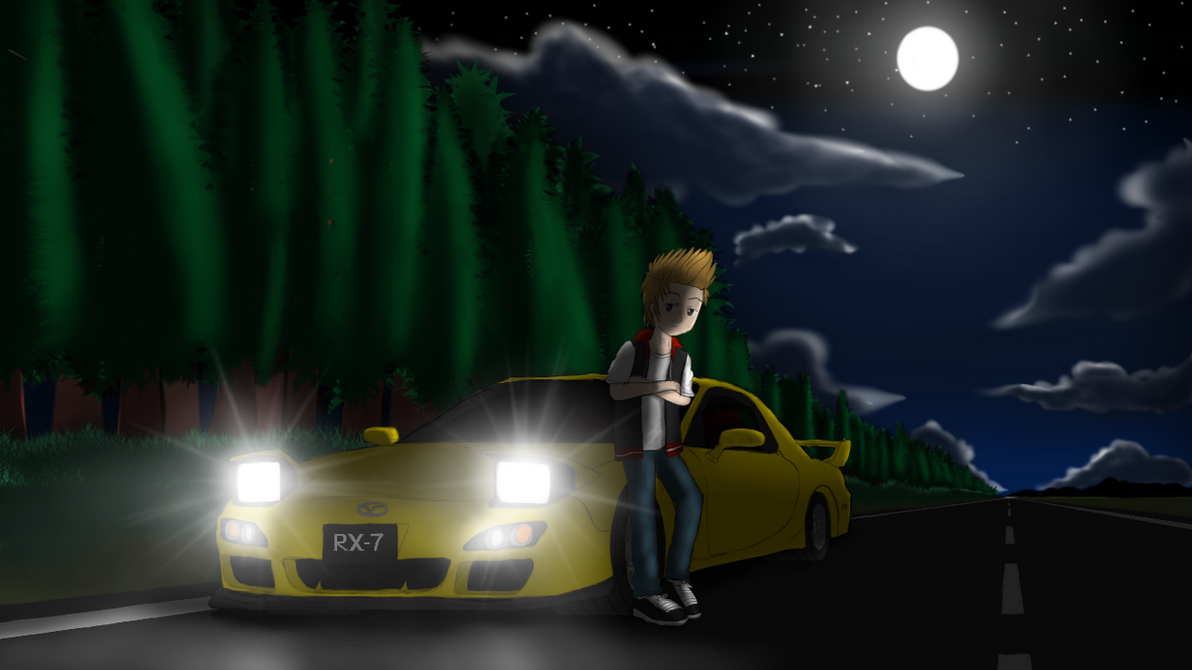 Midnight Touge by LesterJam