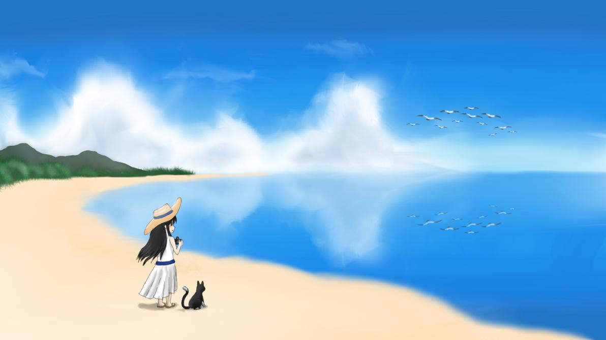 Beach Paradise by LesterJam