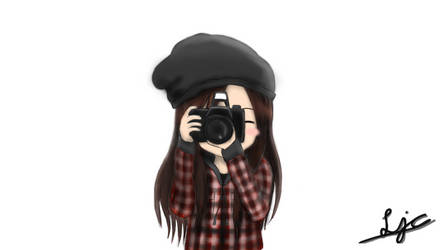 Anime Camera Girl