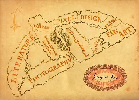 Dev'yant Arte Map