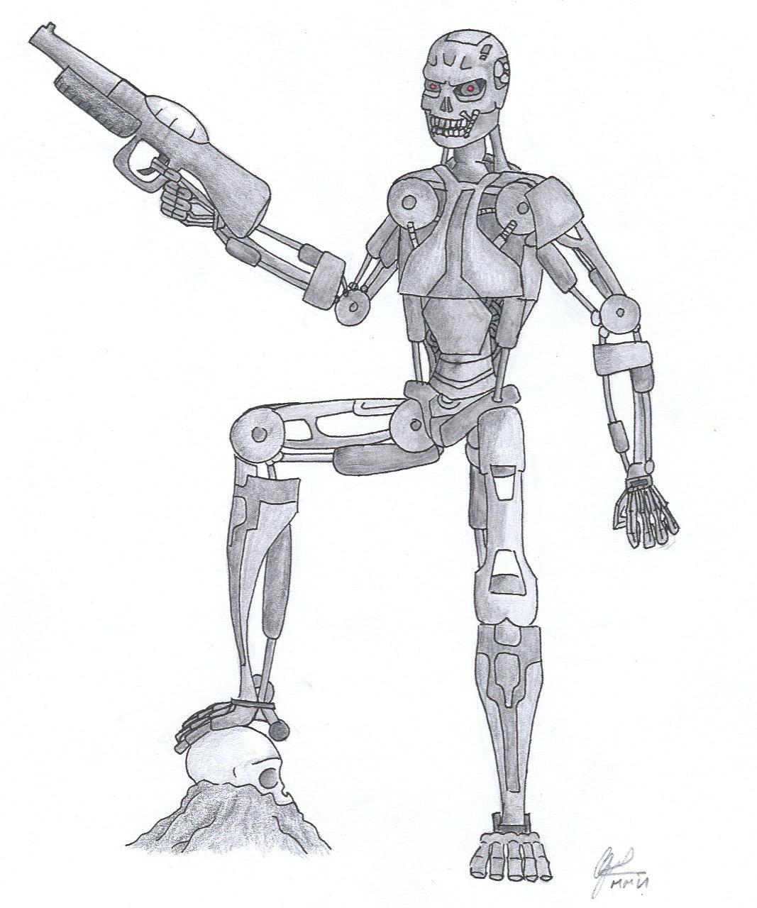 The TerminatorHasta La Vista by Thegrimmreeper on DeviantArt