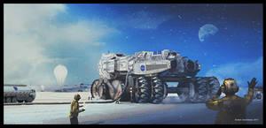 NASA Heavy-Duty Vehicle by bluesey