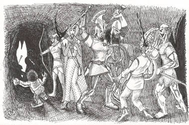 Fight in a Cave