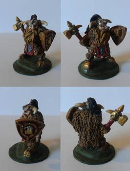 Dwarf Warrior, Male