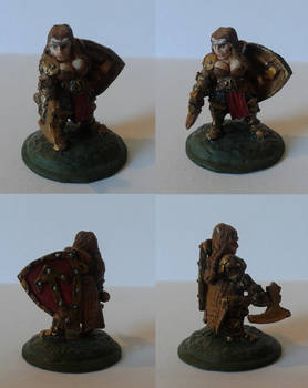 Dwarf Warrior, Female