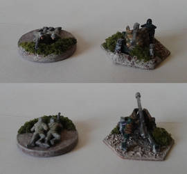 Machine Gun and Towed Artillery Units