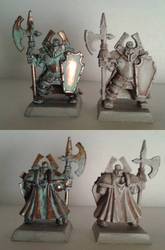 Stone and Bronze Statues