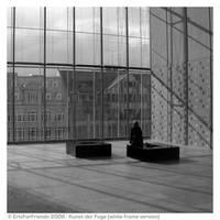 Kunst der Fuge - w white frame by EricForFriends