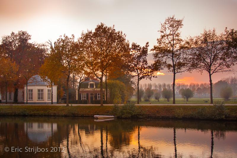 Vecht sunset by EricForFriends
