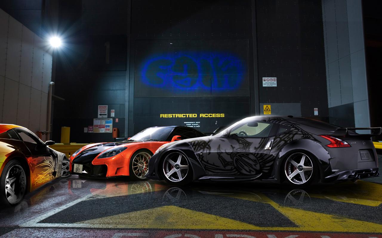 All Sports Carz Tokyo Drift Cars Wallpaper