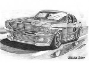 Ford Mustang Shelby GT500F