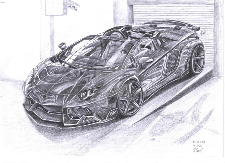 Lamborghini Aventador Fx913 By Faik05 On Deviantart