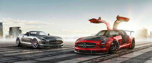 Mercedes-Benz SLS AMG GT And SLS AMG Roadster Work