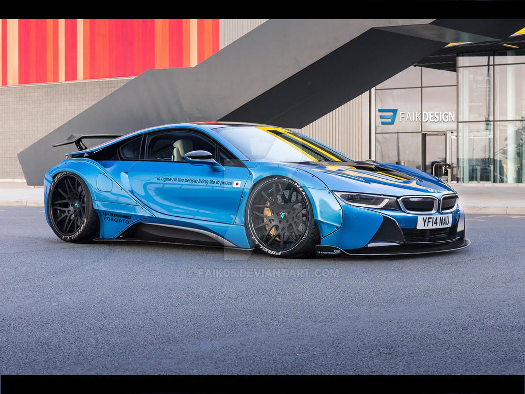 Bmw I8 Libertywalk By Faik05 On Deviantart