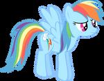 A Bored Rainbow Dash