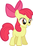 Apple Bloom- Smiling adorably.
