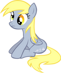 Derpy Hooves sitting.