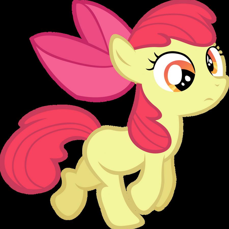Apple Bloom Derp by LilCinnamon