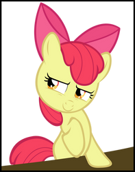 What's on your mind Apple Bloom?