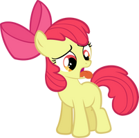 Apple Bloom toungue twisted by LilCinnamon