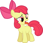 Apple Bloom toungue twisted