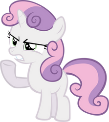 Sweetie Belle - Angry