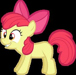 Smiling Apple Bloom by LilCinnamon