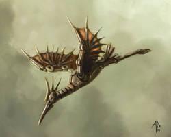 Stymphalian bird by DwarvenArchitect