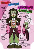 Watermelon Tourmaline (Fusion) by CircusCavalier